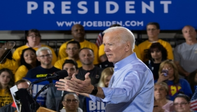 جو بايدن يطلق حملته لسباق 2020 الرئاسي ويدعو إلى الوحدة ورفض ترامب