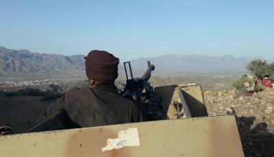 الضالع: قوات الجيش الوطني والمقاومة تستعيد مواقع غرب مديرية قعطبة