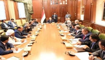 الرئيس هادي يرأس اجتماعا للتحالف الوطني للأحزاب والمكونات السياسية