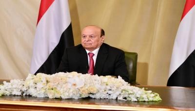 الرئيس هادي: ليس بمقدور منطقة ولا طائفة ولا سلالة أن تفرض إرادتها على اليمنيين