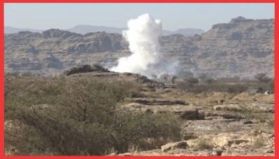 صعدة: الجيش الوطني يسيطر على سلسلة جبال استراتيجية في الصفراء