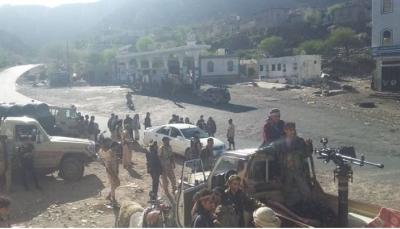 """قيادي عسكري بالضالع: الجيش نجح في تحرير مناطق واسعة وفك الحصار على """"مريس"""""""