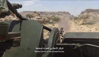 """صعدة: قوات الجيش الوطني تسيطر على مواقع جديدة في جبهة """"الحشوة"""""""