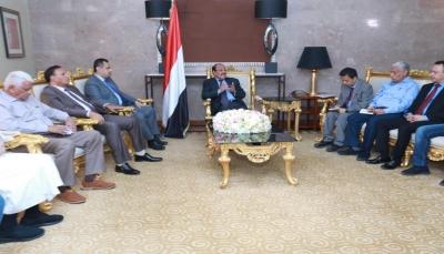 نائب الرئيس يلتقي التحالف الوطني ويقول إنه سيكون رافدا مهما للعملية السياسية