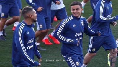 """الأرجنتين تبدأ تحضيراتها لبطولة """"كوبا أمريكا"""" بدون ميسي"""