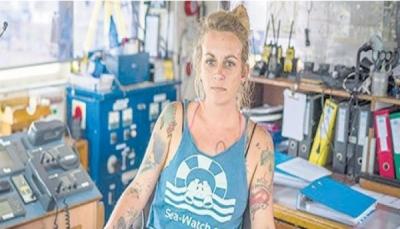 قبطانة تواجه السجن 20 عاماً وتهمتها إنقاذ 6000 شخص من الغرق في البحر