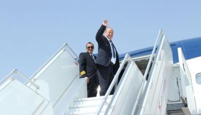 مسؤول حكومي: الرئيس هادي يغادر الرياض إلى الولايات المتحدة الأمريكية