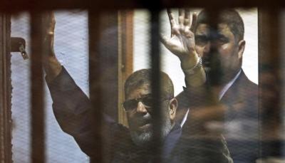 """رايتس ووتش تحمل الحكومة المصرية مسؤولية وفاة """"محمد مرسي"""""""