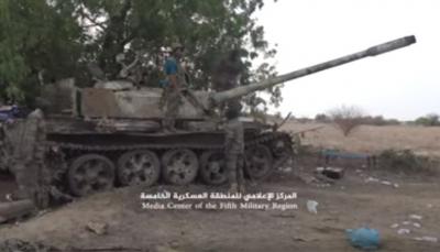 """حجة: الجيش يستعيد أسلحة ثقيلة من الميليشيا بينها دبابة في """"حرض"""""""