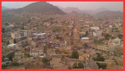 إب.. مليشيات الحوثي تُجبر تُجار يريم على تمويل صيانة طرق المدينة