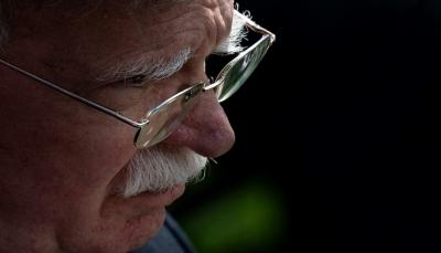 """مستشار الأمن القومي الأمريكي بولتون يحذر إيران من اعتبار """"التعقل"""" الأميركي """"ضعفا"""""""