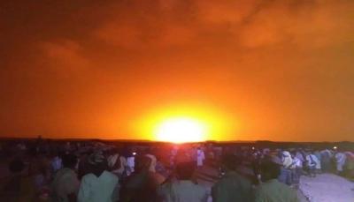 شبوة: تفجير أنبوب الغاز بمديرية رضوم الخاضعة لقوات موالية للإمارات