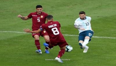 الأرجنتين تتجاوز فنزويلا وتضرب موعداً مع البرازيل في نصف النهائي