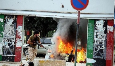 قوات الوفاق الليبية تهاجم مطار طرابلس من ثلاثة محاور لقطع الإمدادات عنه