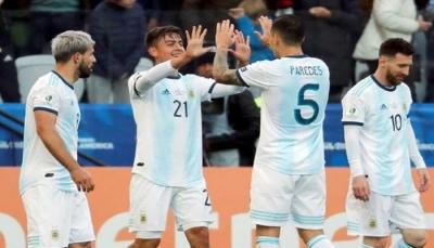"""رغم طرد ميسي.. الأرجنتين تحصد برونزية """"كوبا أمريكا"""""""