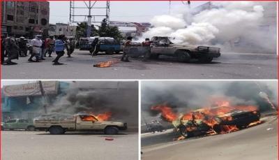 مواجهات مسلحة بين الأجهزة الأمنية ومطلوبين وسط مدينة تعز