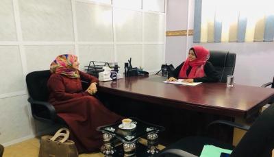 لقاء تنسيقي بين قطاع المرأة بوزارة الشباب ومركز المرأة للبحوث بجامعة عدن