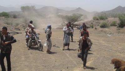 """الضالع: الجيش الوطني يتقدم غرب """"قعطبة"""" ويكبد الميليشيا خسائر فادحة"""