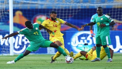 السنغال تنهي مغامرة بنين وتتأهل إلى نصف نهائي كاس أفريقيا