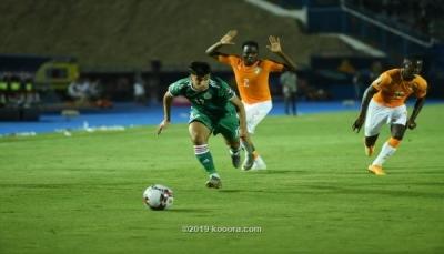 الجزائر تطيح بكوت ديفوار وتبلغ نصف نهائي بطولة أفريقيا