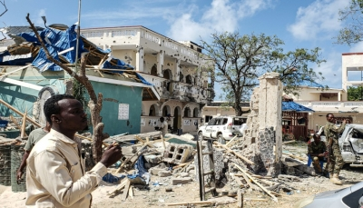الصومال: 26 قتيلاً على الأقل في هجوم لحركة الشباب على فندق في كيسمايو