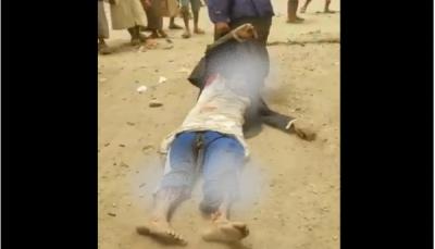 """بعد أن قتلوه وسحلوا جثته.. الحوثيون يختطفون العشرات من مسلحي """"قشيرة"""" في عمران"""