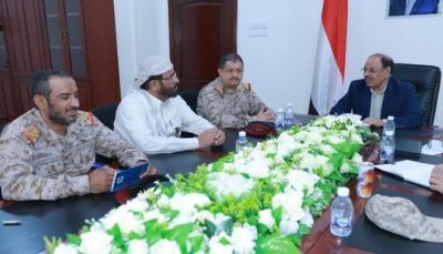 نائب الرئيس يصل مأرب ويلتقي قيادة الجيش الوطني والتحالف العربي