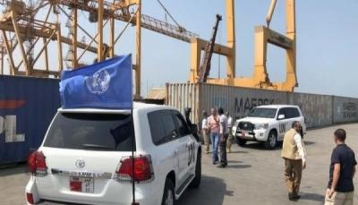 الحكومة تؤكد حرصها على تنفيذ اتفاق الحديدة وتعزيز آلية التفتيش في موانئها
