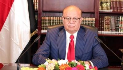 الرئيس هادي: لن ترهبنا طائرات العابثين وسنستعيد عدن ونبسط نفوذ الدولة فيها