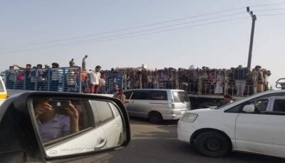الحزام الأمني ينفذ اعتقالات جماعية لمواطنين ينتمون للمحافظات الشمالية في عدن