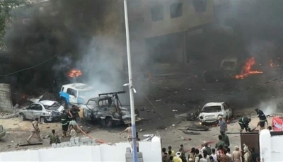 """تنظيم """"داعش"""" يتبنى عملية تفجير قسم الشرطة في الشيخ عثمان"""
