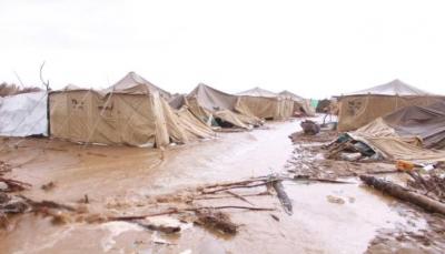 الحكومة تناشد لمساعدة أكثر من 7 ألف أسرة نازحة نكبتها السيول في الساحل الغربي
