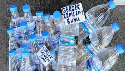مكة: توزيع 19 مليون لتر من ماء زمزم على الحجاج