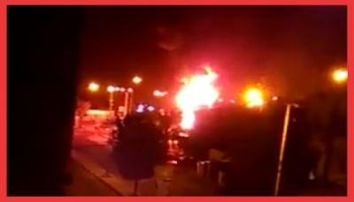"""""""يمن شباب نت"""" يرصد خارطة المعارك في مدينة عدن خلال الساعات الماضية"""