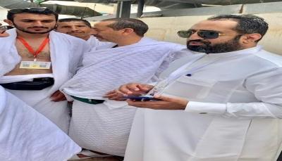 """وكيل وزارة الأوقاف القرشي يتفقد الخدمات بمخيمات اليمنيين في """"منى"""""""