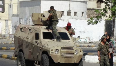 عقب سيطرة الانتقالي الإماراتي.. التحالف يدعو لوقف إطلاق النار بعدن ويهدد باستخدام القوة العسكرية
