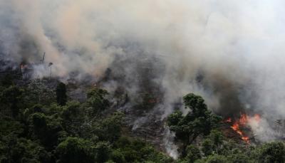 حرائق هائلة ومرعبة تلتهم غابات الأمازون تم رصدها من الفضاء الخارجي (فيديو)