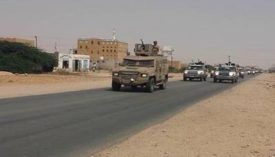 أبين: مسلحون ينصبون كمين لتعزيزات الانتقالي الإماراتي كانت في طريقها إلى شبوة