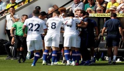 """تشيلسي يحقق أول انتصار بـ""""الدوري الإنجليزي"""" تحت قيادة لامبارد"""