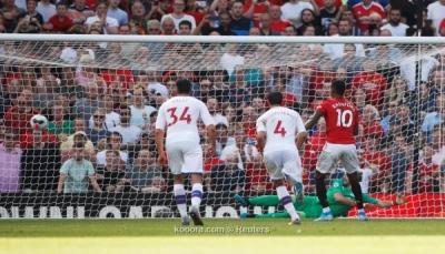 مانشستر يونايتد يسقط أمام كريستال بالاس وسط جمهوره