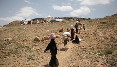 تقرير حكومي: نزوح أكثر من 1500 أسرة جراء تصعيد الحوثيين في مأرب