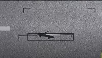 دفاعات التحالف تعترض طائرة مسيرة حوثية أطلقت من عمران باتجاه السعودية