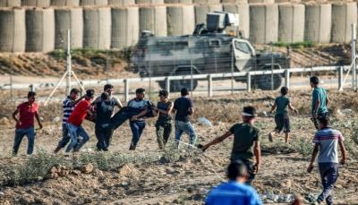 استشهاد فتيَين فلسطينيَين وإصابة 76 شرقي قطاع غزة برصاث قوات الإحتلال