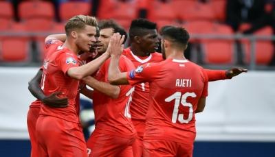 سويسرا تشدد الخناق على ايرلندا تصفيات كأس أوروبا
