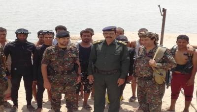مأرب: تدشين دورة الغواصين المشتركة بين الدفاع المدني والقوات الخاصة