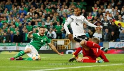 ألمانيا تُضمد جراحها بانتزاع الصدارة من أيرلندا الشمالية