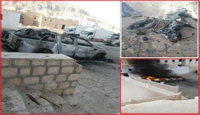 هجوم إرهابي يستهدف قوات للجيش في مدينة شبام حضرموت