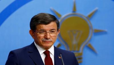 احمد داوود أوغلو يستقيل من حزب «العدالة والتنمية» الحاكم في تركيا
