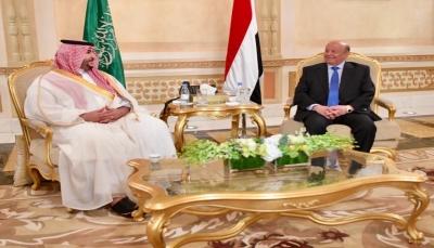 السعودية تجدد دعمها لليمن في لقاء جمع الرئيس هادي بخالد بن سلمان