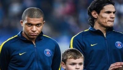مبابي وكافاني يغيبان عن باريس سان جيرمان أمام ريال مدريد